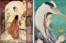 The Goose Girl, de Rie Cramer The Heron Girl, de Danielle Barlow