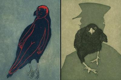 Raven Girl, de Audrey Niffenegger