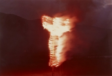 Ana Mendieta GL7340 Silueta de Cohetes, 1976 Lifetime color photograph
